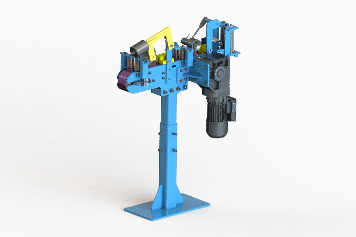 Hose conveyor – front